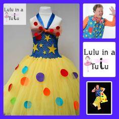 Mr Tumble Inspired Tutu by Lulu in a Tutu Visit https://www.facebook.com/LuluinaTutu for more tutu designs
