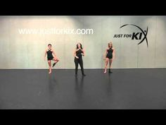 Fanning Tuck Jump Tutorial and Demonstration from Just For Kix - YouTube
