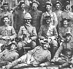 Members of the New South Wales Naval Brigade which served in China during the Boxer Rebellion, 1900–1901.