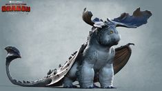 ArtStation - How To Train Your Dragon - The Hidden World :: Crimson Goregutter Dragon, Charles Ellison
