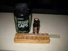 Doterra veggie caps: These are empty pills that you can fill with essential oils, herbs, or some sort of home remedy that you want to take internally! Making your own pills can really be a money saver. (via.youngwivesguide.com)