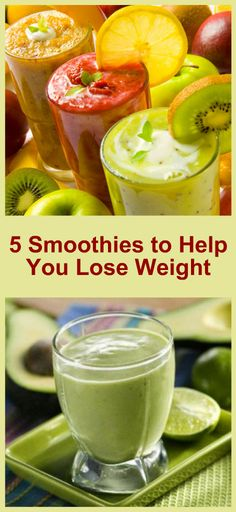 5 Smoothies to Help You Lose Weight