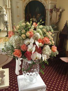 Coral wedding design