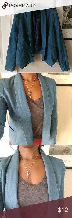 🎀 Jessica Simpson Blazer Size Medium Jessica Simpson blazer, perfect for the office. 69% cotton, 31% rayon. Jessica Simpson Jackets & Coats Blazers
