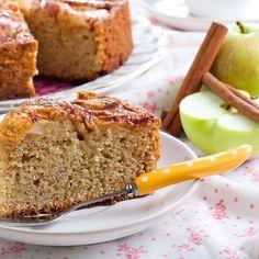 Recette Moelleux aux pommes sans sucre (facile, rapide)