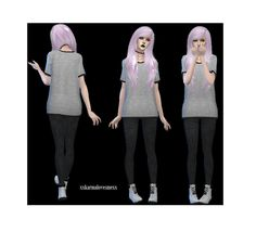 Sims 4, Tumblr, People, People Illustration, Tumbler