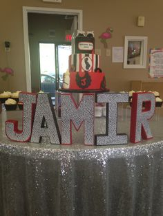 Jordan themed shower done by Prrfect Parties www.prrfectparties.com in Atlanta ,GA