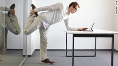There are things you can do to make your workplace better for your health and wellbeing. Here's how to give your office space a health makeover, according to the experts. Mini Workouts, Easy Workouts, Herbalife, Cellulite, Desk Workout, Workout Ideas, Office Exercise, Office Workouts, Office Yoga
