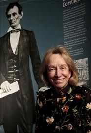 "Doris Kearns Goodwin  Presidential Historian  The movie Lincoln is based on her book ""TEAM OF RIVALS"""