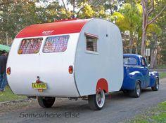 1950's caravan