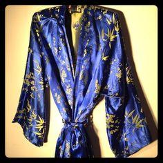 "Selling this ""Asian bathrobe"" in my Poshmark closet! My username is: heightstonian. #shopmycloset #poshmark #fashion #shopping #style #forsale #Other"