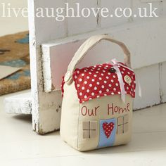 House Doorstop..pinned for inspiration, no pattern