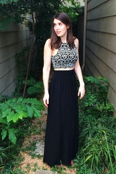 How to make a maxi skirt in 10 minutes!! Only 1 piece of fabric and 2 seams