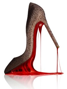 Louboutin. Photographed by Matthew Shave for Harrods magazine.