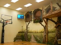 It's a Playground and Basketball Court! - Design Dazzle