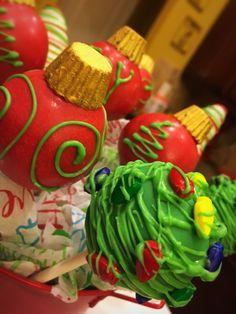 Nicole Sugary Sweet Boutique                                   Christmas Cakepops              nicolesugarysweetboutique #cakepops  https://www.facebook.com/nicolesugarysweetboutique/