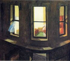 Night Windows by Edward Hopper