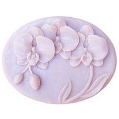 Free shipping 3D Orchid Craft Art Silicone Soap mold Craft Molds DIY Handmade Candle mold Chocolate Mold moulds