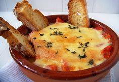 aperitivos, provoleta, provolone, tomate, oregano, cocina, cocina actual,