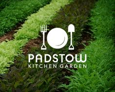 Padstow Kitchen Garden Logo | Designed by Artboy