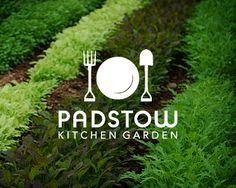 Padstow Kitchen Garden Logo   Designed by Artboy