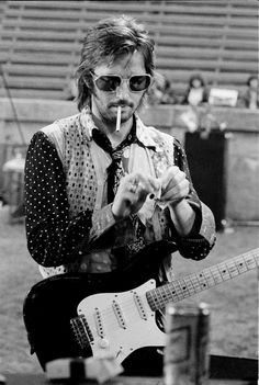 Eric Clapton somewhere in the beginning of or midway in the seventies'.