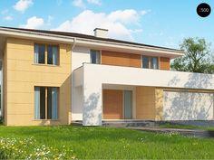 Общая площадь 264,5 м² Проект дома Z156A это проект дома с террасой, средний по размеру, который подойдет для проживания большой семьи.