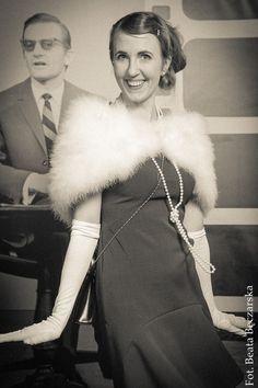 sukienka Burda 9/2014 model 122, lata 20.; dress, the 20's