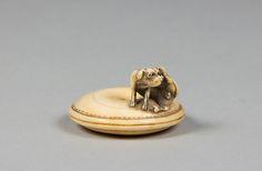 Netsuke Date: 18th century Culture: Japan Medium: Ivory