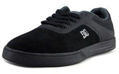 DC Mike Mo Capaldi S Round Toe Suede Sneakers.