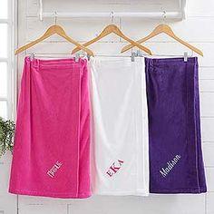 e5180fe61f Spa Comfort Ladies Embroidered Towel Wrap - 14898 Monogram Towels