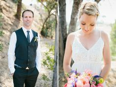 Stefanie + Leigh, Los Angeles Backyard Wedding