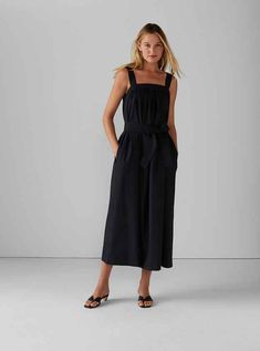 Burnout Pleated Maxi Dress Club Monaco, Casual Day Dresses, Dress Outfits, Jumpsuit Dress, Belted Dress, Modern Outfits, Stylish Outfits, Beach Dresses Online, Dress Remove