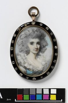 © Victoria and Albert Museum, London Portrait of an unknown woman    Object:  Miniature    Place of origin:  England, Great Britain (probably, painted)    Date:  1785-1790 (painted)    Artist/Maker:  Engleheart, George