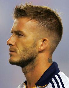 Spiked Hair Cuts as David Beckham