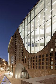 Helsinki University City Library by Anttinen Oiva Architects, 2012.