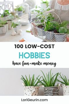 Looking for healthy ways to relieve stress and have fun? Here are 100 low-cost hobbies that are easy to do at home or outdoors. There's something for everyone even if you're short on time. #hobbies #funhobbies #hobbiesforwomen #hobbiesformoms #hobbiesformen #lowcosthobbies #freehobbies Diy Crafts And Hobbies, Easy Hobbies, Hobbies For Women, Hobbies To Try, Hobbies That Make Money, Crafts To Sell, How To Make Money, Wellness Tips, Health And Wellness