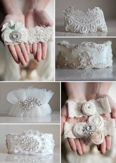 Crystal Couture Wedding Garters holly these are really cool! Wedding Bride, Diy Wedding, Dream Wedding, Wedding Day, Lace Wedding, Garter Set, Up Girl, Here Comes The Bride, Bridal Accessories