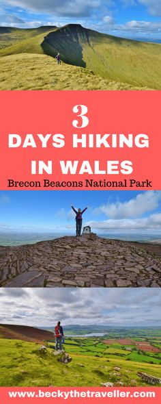 Hiking Trails: How You Can Choose the Best One Europe Destinations, Europe Travel Tips, Travel Guides, Backpacking Europe, Brecon Beacons, Wanderlust, Best Hikes, Ireland Travel, Hiking Trails