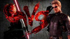 ДАРТ МОЛ против ВЕСКЕРА   DARTH MAUL vs WESKER [CT Fight Club   Star War...