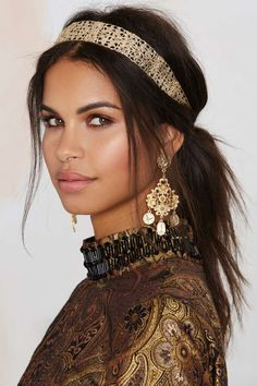 Golden Gate Metal Headband | Shop Accessories at Nasty Gal!