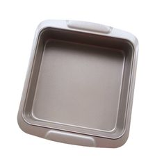 Meleg Otthon Heavy Duty Carbon Steel Nonstick Rectangular Bread Cake Pan Gold,Perfect Baking Pan,Square Bakeware Pan for Pound Cakes,Bread,Meatloaf Gold (square) ** Awesome product. Click the image : Cake Pans