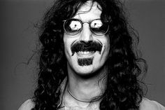 Frank Zappa in Los Angeles, 1976. Photo by Norman Seeff.