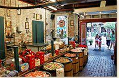 Watch how taffy is made at Savannah Candy Kitchen in City Market, Savannah, GA