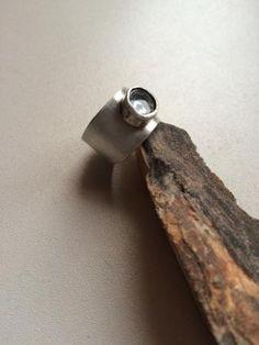 Cottonara: Kolczyki i pierścionek z kryształem górskim