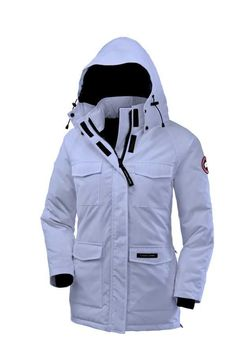 Women's Canada Goose Constable Parka Arctic Frost