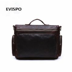 112.70$  Watch now - http://aliihd.worldwells.pw/go.php?t=32793435528 - EVISPO 2017 Promotion Simple Dot Famous Brand Business Men Briefcase Bag Luxury Leather Laptop Bag Man Shoulder Bag bolsa maleta