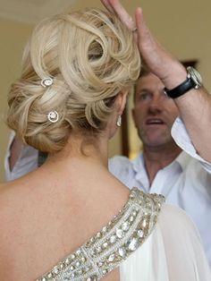 Wedding Up styles by Pat O' Neill, Killarney. Up Styles, Wedding Things, Wedding Hairstyles, Stylists, Fashion, Moda, Fashion Styles, Wedding Hair, Wedding Hair Down