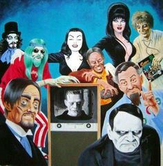 This essay is  Thrilling Days of Yesteryear's contribution to the  Classic TV Horror Host Blogathon , being hosted by the  Classic TV Blo...