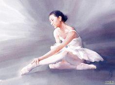 *<3* painting by Liu Yi